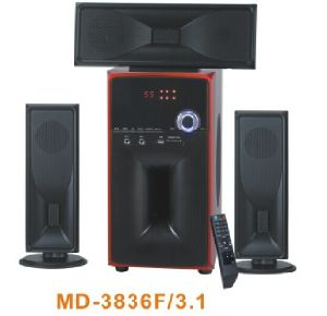 Good Quality 3.1 Home Theatre Speaker (MD-3836F)