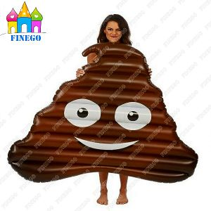 Hot Sell Water Toys PVC Floating Inflatable Air Shit Poo Floats From Factory pictures & photos