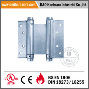 Ss Double Hardware Action Spring Hinge for Europe (DDSS038) pictures & photos
