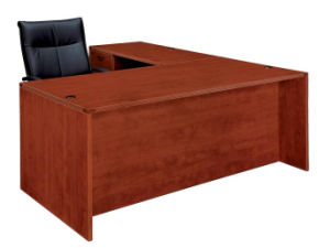 Modern High Quality MFC Board Office Furniture Resersible Return Desk pictures & photos
