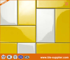 china bright yellow ceramic wonderful subway tiles china