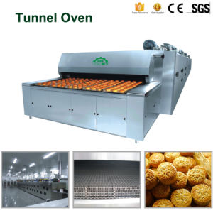 Electric Full Automatic Industrial Bread Tunnel Oven Used in Factory pictures & photos