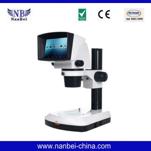 3D Digital Video Zoom Stereo Microscope with with LCD Screen pictures & photos