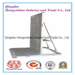 Aluminum Stage Barrier, Police Barrier, Expandable Safety Barrier pictures & photos