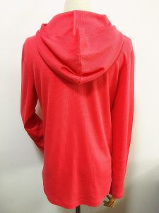 Fashion Pullover Hoody Side Slip Cotton Women Fashion Clothes pictures & photos
