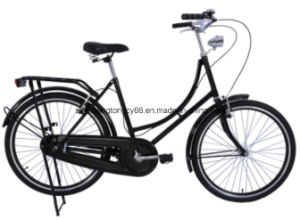 OEM Lady Bike 26 Inch City Bicycle with Dynamo Light pictures & photos