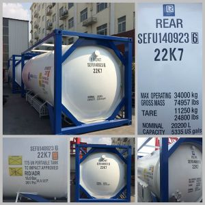 Lox/Lin/Lar/Lco2 / LNG/LC2h4 ISO Tank Container (LOX/LIN/LAR/LCO2) pictures & photos
