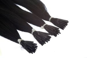 100% Remy Hair Double Drawn Keratin Stick Hair Extension pictures & photos