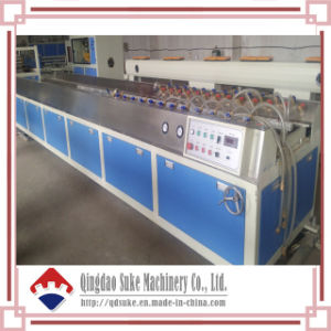 WPC Wood Plastic Profile Production Extrusion Line pictures & photos