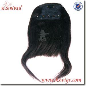 Premium Brazilian Virgin Hair Fringe Human Hair pictures & photos