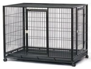 Fashion Square Tube Pet Dog Cage for Pet Products (D1010)