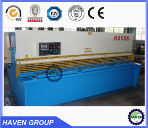 Plate Shearing Machine, Hydraulic Guillotine Shearing Machine QC11Y-6/4000 with CE pictures & photos