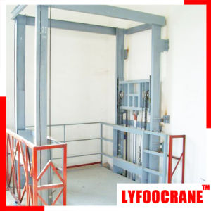 Hydraulic Power Goods Elevator Lifting Height 24m 10t pictures & photos
