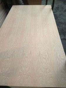 Natural American Red Oak Fancy Veneer MDF Furniture Use pictures & photos