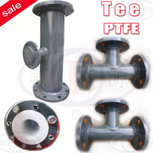 PTFE Pipe (Straight tee, Reducing tee) pictures & photos