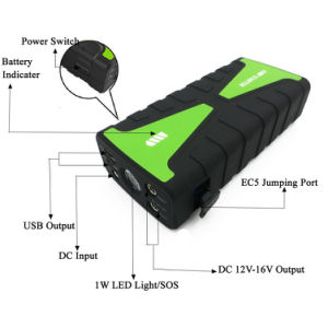 Compact Car Jump Starter Portable Power Bank with 800A Peak pictures & photos