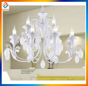 Home Decor Interior Decorating White LED Chandelier Light pictures & photos