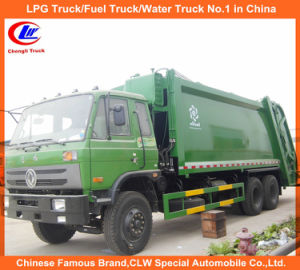 3cbm 5cbm 6cbm Hot Sell Dongfeng Mini Compactor Garbage Truck pictures & photos