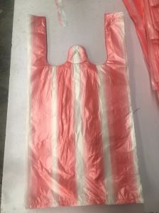 HDPE Stripe Garbage Bags Refuse Bags pictures & photos