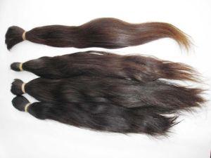 European Natural Virgin Remy Human Hair Bulk pictures & photos