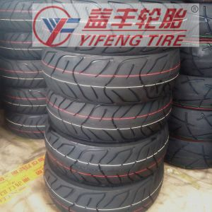 Motorcycle Tire with Factroy Derectly (130/60-10, 120/70-10) pictures & photos