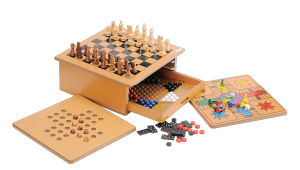 Educational Wooden Toys Chess Game (CB2359) pictures & photos