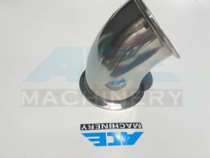 Sanitary Stainless Steel 45 Degree Welded Elbow (ACE-WT-2J) pictures & photos