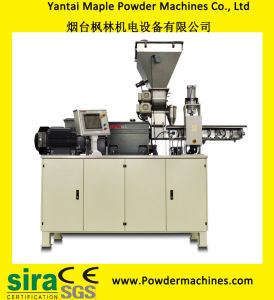 Yantai Maple Twin Screw Extruder with Gearbox Patent pictures & photos