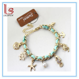 Ocean Animals Hippocampal Conch Shells Anchor Starfish Bracelets pictures & photos