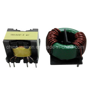 High Frequency Transformer and Choke Coil
