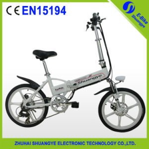 New Shuangye Mini Light Weight Electric Bicycle with CE En 15194 pictures & photos