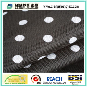 Coated Oxford Polyester Printed Fabric for Umbrella pictures & photos