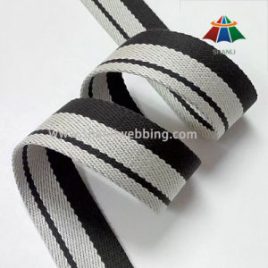 1.5 Inch Striped Cotton Polyester Webbing pictures & photos