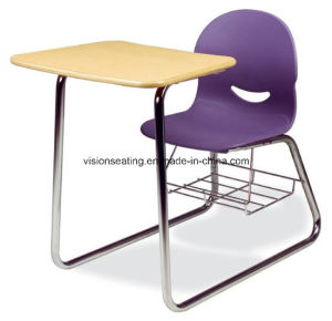 School Student Classroom Study Combo Chair Desk (7303) pictures & photos