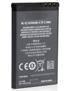 for Nokia Battery, Cellular Phone Batteries / Bl-5j Battery for Nokia5230/5233/5800ixm/