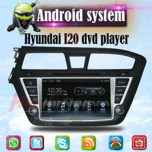 Car Multimedia for Hyundai I20 Android GPS DVD Player pictures & photos