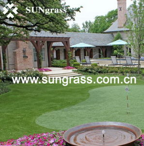 20mm High Quality Artificial Grass for Landscape/Garden/Recreation (SUNQ-HY00088) pictures & photos