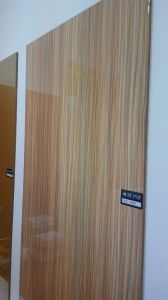 18mm Lcc Glossy MDF for Kitchen Cabinet Door (LCC-1002) pictures & photos