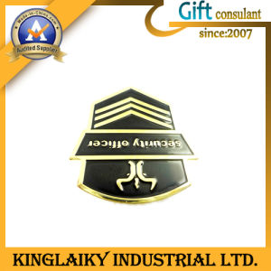 Enamel Badge with Printing Logo for Promotion (KBG-022) pictures & photos
