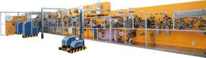 High Speed Automatic Full-Servo Disposable Sanitary Napkin Manufacturing Machine