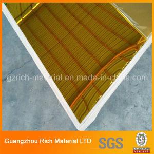 1mm Silver & Golden Color Plastic Acrylic Mirror Sheet pictures & photos