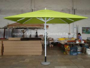 3m Square Aluminium Garden Outdoor Patio Umbrella (PU-3030A) pictures & photos