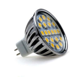 Dimmable 4000k MR16 24 5050 SMD LED Down Light Bulb pictures & photos