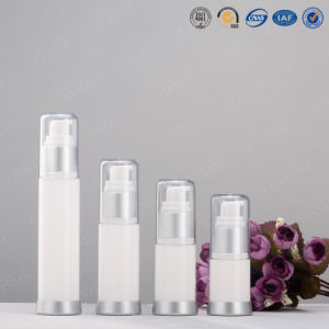 White Acrylic Cosmetics Bottle with Airless Pump pictures & photos