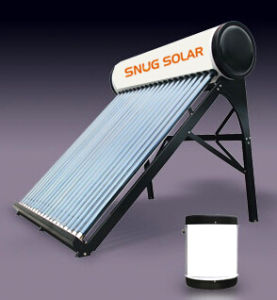etc Low Pressure Solar Water Heater with Assistant Tank pictures & photos