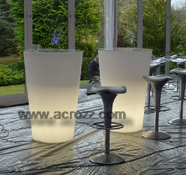 Lighting Furniture LED Bloom Pot Table pictures & photos