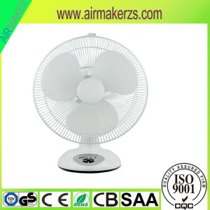 """2017 16"""" DC Rechargeable Fan Stainless Steel Table Fan pictures & photos"""