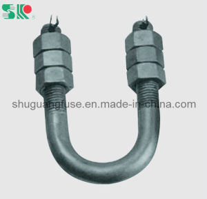 Insulator Fitting U Type Bolt with Nut pictures & photos