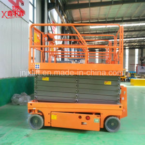 High Rise Window Cleaning Equipment Scissor Lift Man Lifter pictures & photos