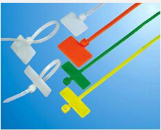 UL Plastic Marker Cable Tie, Red, Blue, Orange Color pictures & photos